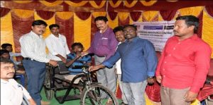 Skill development Training and groups formation for Person with disables.