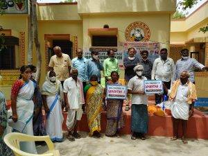 Distributed Grocery to people with Leprosy